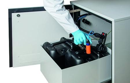 El diseño modular de los componentes como clave para la eliminación segura y cómoda de disolventes