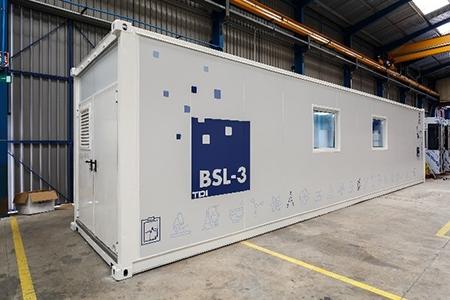 Laboratorios modulares y móviles en clasificación sala blanca o contención biológica