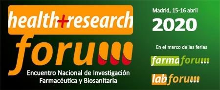 Farmaforum Labforum 2020 acoge Health Research Forum