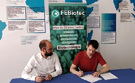 Acuerdo de colaboración entre FEBiotec y Asebio
