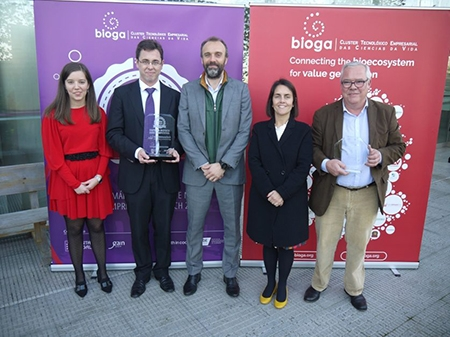 Bioga premia a Nanoinmunotech como Empresa Biotech Más Competitiva y a Phycosem Marine Agronomy como Mejor Idea Empresarial Bio de Galicia