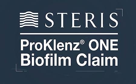 Steris corporation anuncia la adición de una reivindicación de eliminación de biopelículas proklenz one